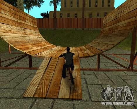 New HD Glen Park para GTA San Andreas novena de pantalla