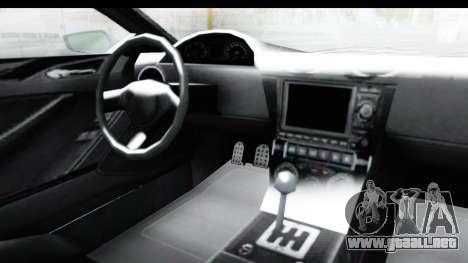 GTA 5 Dewbauchee Seven 70 with Mip Map para visión interna GTA San Andreas