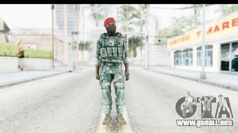Global Warfare Indonesia para GTA San Andreas segunda pantalla