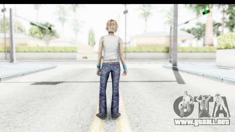 Silent Hill 3 - Heather Sporty White Delicious para GTA San Andreas tercera pantalla