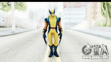 Marvel Heroes - Wolverine Modern para GTA San Andreas segunda pantalla
