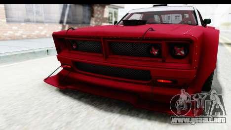 GTA 5 Declasse Drift Tampa IVF para GTA San Andreas interior