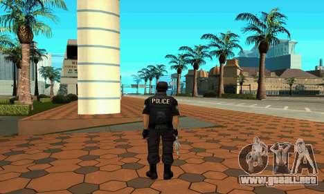 NextGen cambiado el skin original SWAT para GTA San Andreas tercera pantalla
