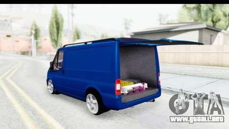 Ford Transit Air para la visión correcta GTA San Andreas