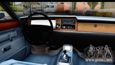 Ford Taunus Coupe para visión interna GTA San Andreas