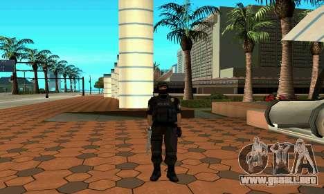 NextGen cambiado el skin original SWAT para GTA San Andreas quinta pantalla