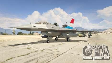 GTA 5 F-16XL USA