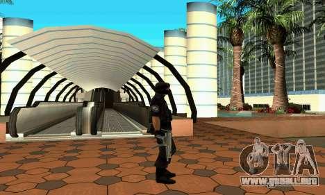 NextGen cambiado el skin original SWAT para GTA San Andreas sucesivamente de pantalla