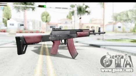 Kalashnikov AK-12 para GTA San Andreas segunda pantalla