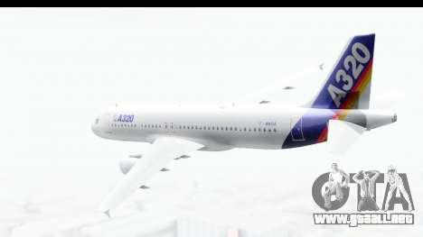 Airbus A320-200 Industrie MSN 1 1987 First Fligh para GTA San Andreas left