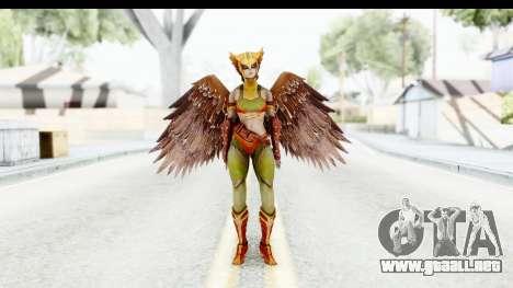 Injustice God Among Us - Hawk Girl para GTA San Andreas segunda pantalla