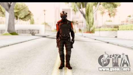 Homefront The Revolution - KPA v3 Black para GTA San Andreas segunda pantalla