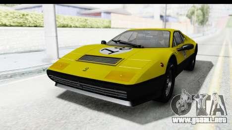 Ferrari 512 GT4 BB 1976 para las ruedas de GTA San Andreas