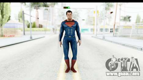 Injustice God Among Us - Superman BVS para GTA San Andreas segunda pantalla