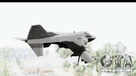 MGSV Phantom Pain Hydra v2 para la visión correcta GTA San Andreas