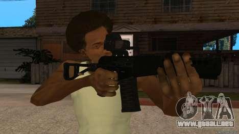 Como-VAL Payday 2 para GTA San Andreas segunda pantalla