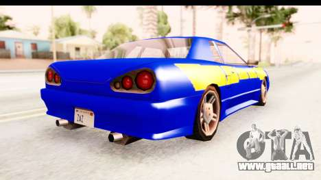 NFSU2 Tutorial Skyline Paintjob for Elegy para la visión correcta GTA San Andreas