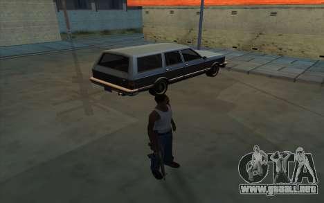 La posesión de armas para GTA San Andreas