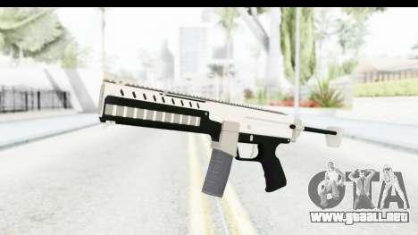 GTA 5 Coil Combat PDW para GTA San Andreas