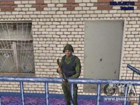 El conductor de la MIA para GTA San Andreas segunda pantalla