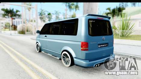 Volkswagen Caravelle para GTA San Andreas left