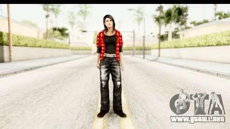Twilight - Bella para GTA San Andreas segunda pantalla