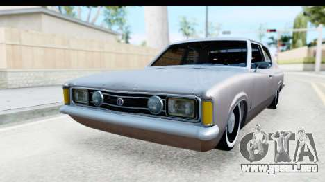 Ford Taunus Coupe para la visión correcta GTA San Andreas