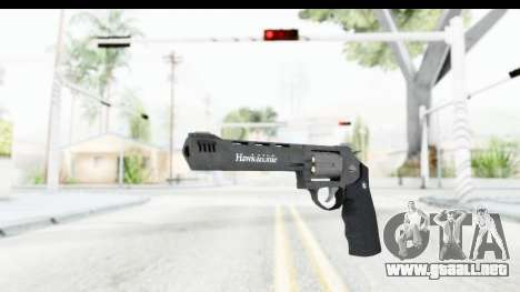 GTA 5 Hawk & Little Heavy Revolver para GTA San Andreas segunda pantalla