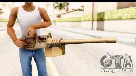M2 Browning para GTA San Andreas tercera pantalla