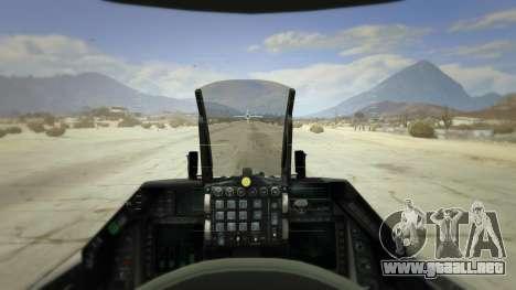 GTA 5 F-16XL USA quinta captura de pantalla