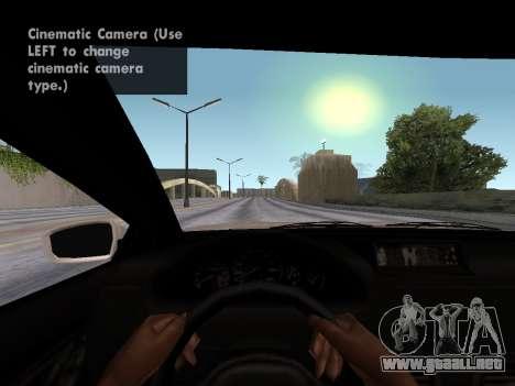 GTA 5 Ubermacht Oracle II para GTA San Andreas vista posterior izquierda