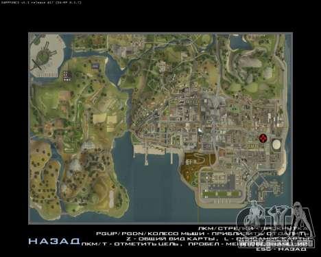 Garaje CJ armenia para GTA San Andreas quinta pantalla