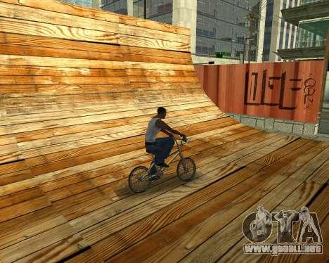 New HD Glen Park para GTA San Andreas