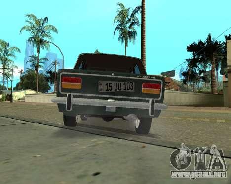VAZ 2103 armenia para GTA San Andreas vista hacia atrás