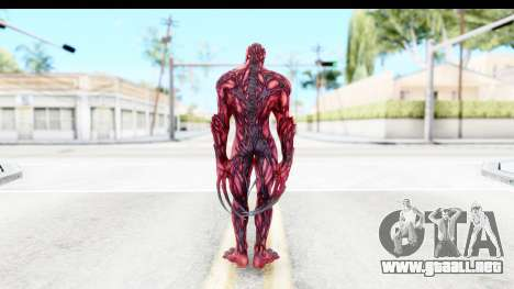 Marvel: Ultimate Alliance 2 - Carnage para GTA San Andreas tercera pantalla