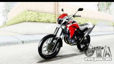 Yamaha XT 660R para la visión correcta GTA San Andreas
