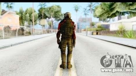 Homefront The Revolution - KPA v1 Dead para GTA San Andreas tercera pantalla