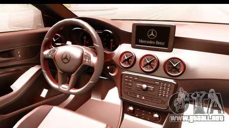 Mercedes-Benz CLA45 AMG 2014 para visión interna GTA San Andreas