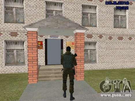 Policía para GTA San Andreas sucesivamente de pantalla