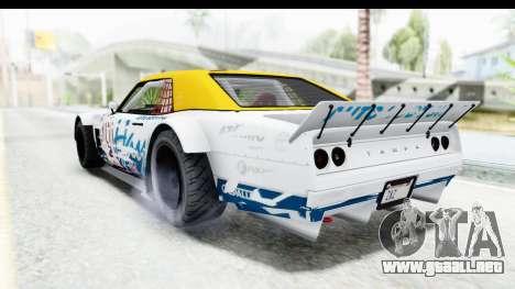 GTA 5 Declasse Drift Tampa para vista inferior GTA San Andreas