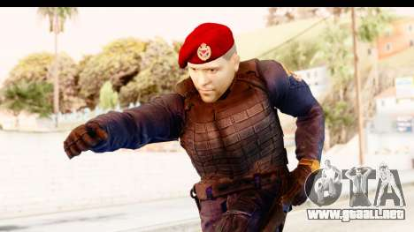 Bahrain Officer v2 para GTA San Andreas