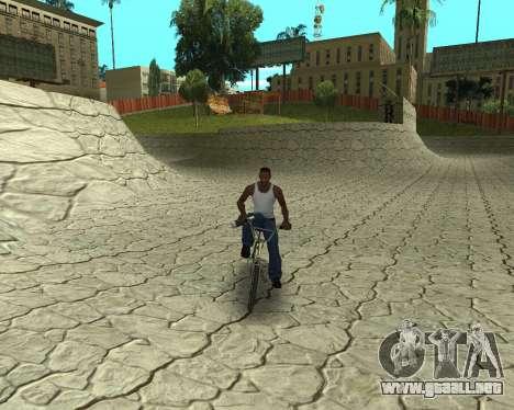 New HD Glen Park para GTA San Andreas tercera pantalla