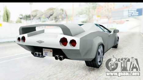 VCS Infernus para la visión correcta GTA San Andreas