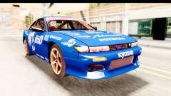 Nissan Sileighty 2015 D1GP para GTA San Andreas