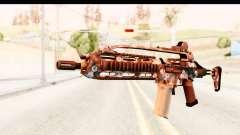 SCAR-LK Hex Camo Blue para GTA San Andreas
