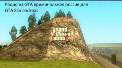 Radio de GTA Penal de Rusia para GTA San Andreas