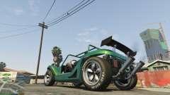 Las manchas de los neumáticos para GTA 5