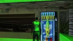 Nueva automática de Heno-Cola y la Bandera de ar