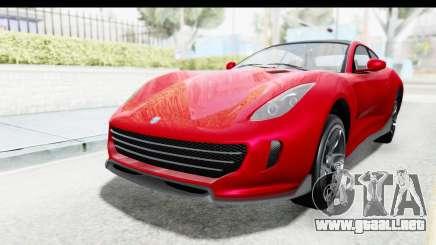 GTA 5 Grotti Bestia GTS with MipMap IVF para GTA San Andreas