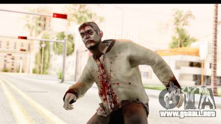 Left 4 Dead 2 - Zombie Rural para GTA San Andreas